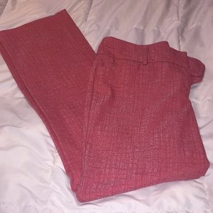NY & Co pink dress pants (10)